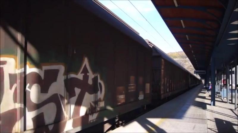 Vlaky Usti nad Labem hlavni nadrazi 8.11.2015