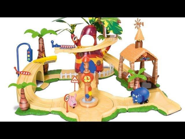 Мультфильм для детей. Перекресток в Джунглях. Игра на пляже
