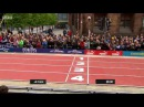 Great Britain wins relay 2x100 meters at Great North CityGames Newcastle 2015