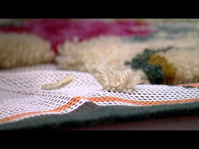 Mulher.com 20/05/2015 Noeli Baldissera - Tapete de beira cama Parte 2/2
