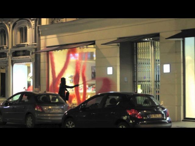 Kidult hits Colette, Paris, 2011
