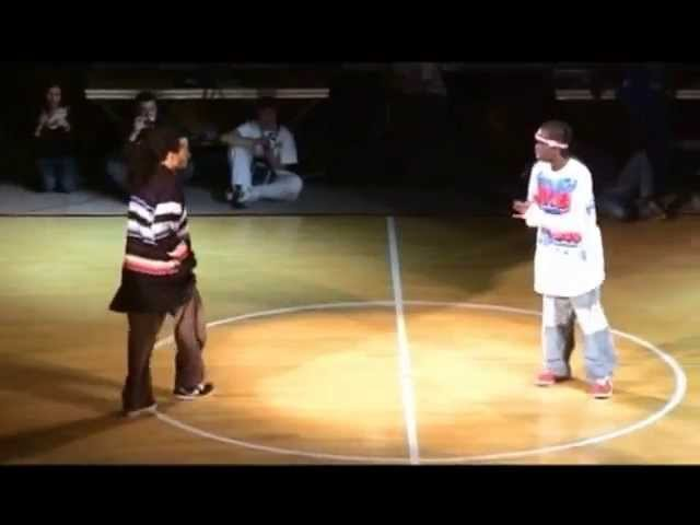 Niako P Fly vs Physs Paul Ereck Juste Debout 2005 hip hop semifinal