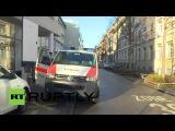 Швейцария: Террор оповещения в Цюрихе Еврейской школы приводит к тяжелым развертывания полиции.