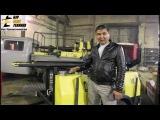 Отзыв клиента из Киргизии на на киргизском языке о компании БУРСПЕЦТЕХНИКА