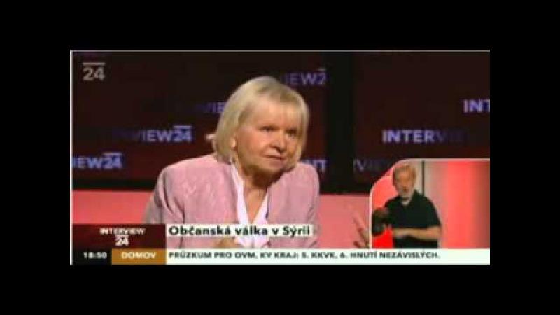 Česká velvyslankyně v Sýrii Pravda o mediálních lžích Mobile