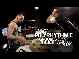 3 Sick Polyrhythmic Grooves Every Drummer Should Know