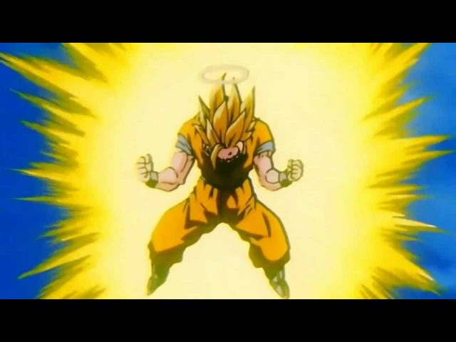 Goku goes Super Saiyan 3 For The First Time [HD 1080p]