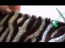 Вязание Мужской свитер Узор ДВУХЦВЕТНАЯ КОСА КАНАТ ВЯЗАНИЕ ГОРЛОВИНЫ И ПЛЕЧЕЙ