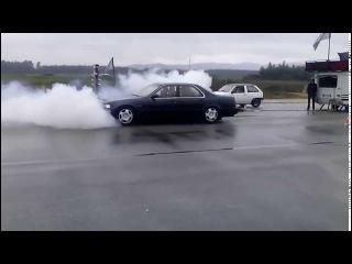 HONDA LEGEND 3.2 V6 CRAZY BURNOUT #AGUEDA# 03/05/2015