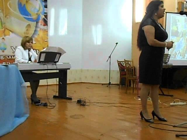 выступление Соны Саядян. Романс на стихи С.Есенина
