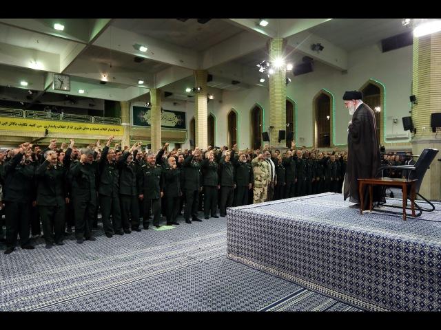 Аятулла Хаменеи, Касим Сулеймани и другие генералы оплакивают Имама Хусейна (а)