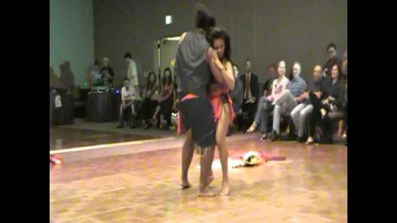 BACHATA TAHITIAN DANCE BY CHARITO RIVERA AND TUI PETELO, MAROS SLOBODA ON CONCH SHELL