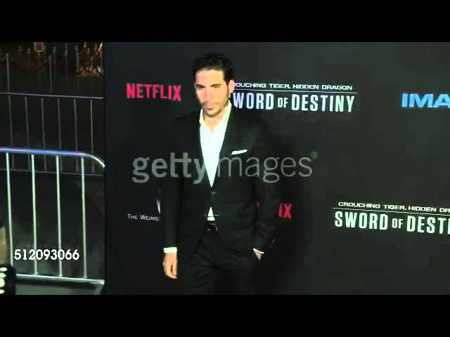 Miguel Angel Silvestre at the Premiere Of Netflix's Crouching Tiger