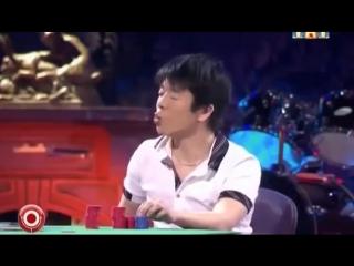Александр Рева играет в покер