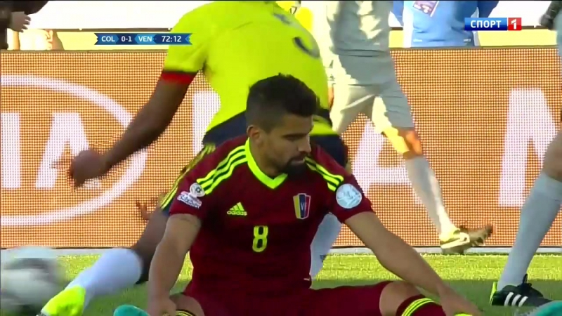 Copa America 2015 Game 5 - Group C - Colombia vs Venezuela 2nd half- 720p 50fps