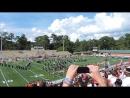 Открытие игры Blazers (Valdosta State University) vs. Cumberland (Cumberland University) 26.09.15