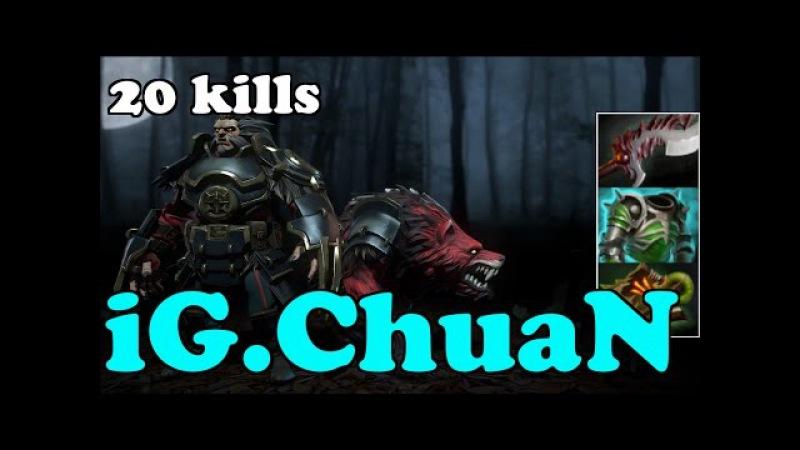 Dota 2 iG.ChuaN Plays Lycan - Normal Gameplay Highlights