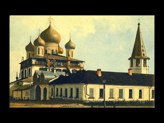 Russian Orthodox Chant for Easter - The Angel Cried, Christ is Risen