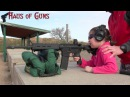7 Year Old's First Time Shooting AR-15