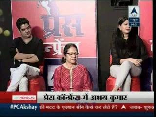 Akshay Kumar PC Exclusive on ABP News 9 Jan 2016 Part - 04