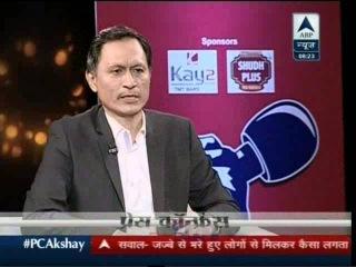 Akshay Kumar PC Exclusive on ABP News 9 Jan 2016 Part - 03