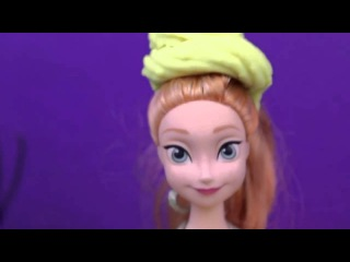 Play Doh Frozen Videos Play Doh Barbie, Elsa   Anna, Kids Girl and Spiderman Play Doh Videos 2