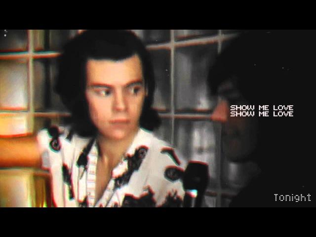 Louis harry || show me love (larry stylinson)