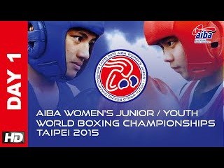 ::DAY1:: Opening Ceremony 2015 AIBA Women's Junior and Youth World Boxing Championships Day1