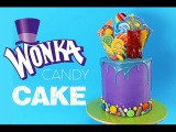 [vk.com/LakomkaVK] WONKA Candy Cake | How to make a Candy Covered Drip Cake | My Cupcake Addiction