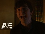 Bates Motel Norman is Upset with His Mother (Season 3, Episode 3)  A&ampE