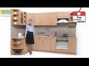 Кухня «Оля» Бук/Береза-Роксан модель №2