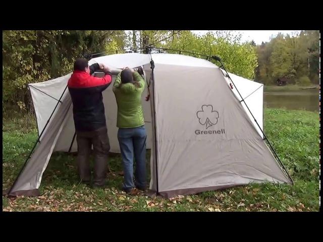 Greenell Трим 4 квик палатка