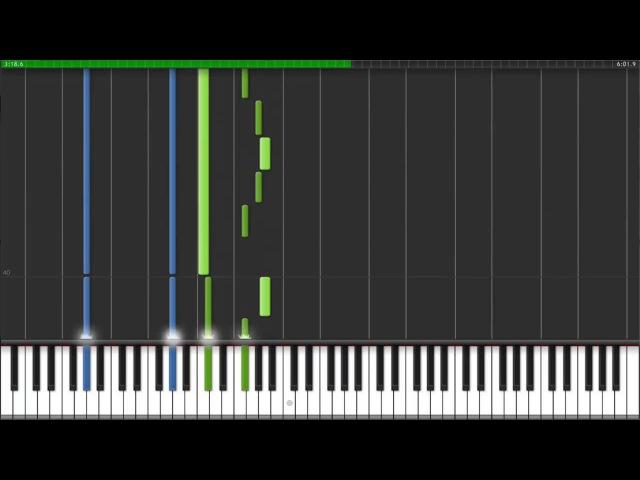 Moonlight Sonata 1st Movement - Opus 27 No. 2 [Piano Tutorial] (Synthesia)