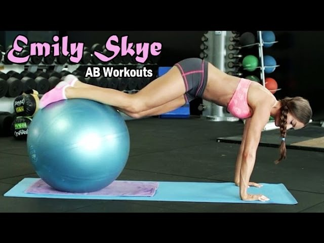 EMILY SKYE - Fitness Model: AB Workouts for Women - Moderate to Advanced @ Australia