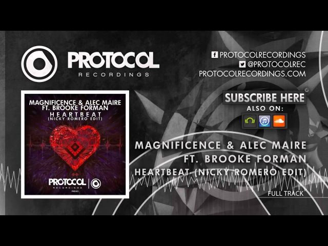 Magnificence Alec Maire ft Brooke Forman Heartbeat Nicky Romero Edit