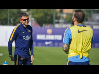 FC Barcelona training session: First workout of the latest hiatus