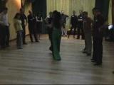 Canyengue lesson (Tango Canyengue Class Roxina &amp Adrian)