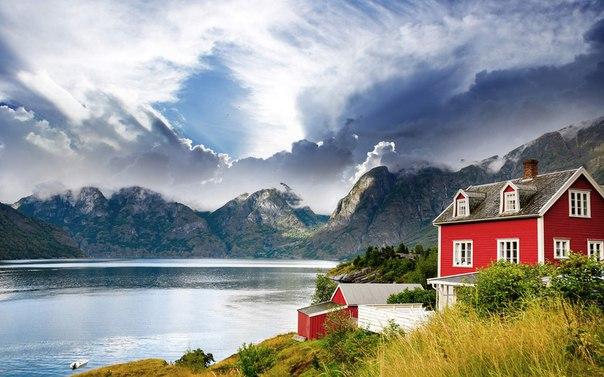 Домик где-то в Норвегии