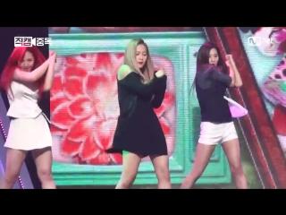 160317 M Countdown Red Velvet - Cool Hot Sweet Love [Yeri fancam]