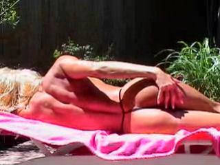 Tylene Buck - Slick Black Bikini