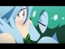 Monster Musume: Papi x Suu Kiss ( Yuri , Lesbian Scene ) [ Повседневная жизнь с девушками монстрами ]