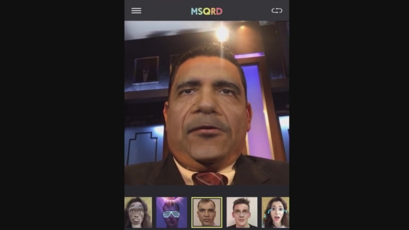 Jimmy Kimmel _ Guillermo Use a 3D Mask App