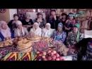 Передача по ТВ о традициях и обычаях уйгуров.
