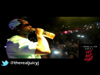 Dj snake ft lil jon ft pitbull  juicy j   turn down for what