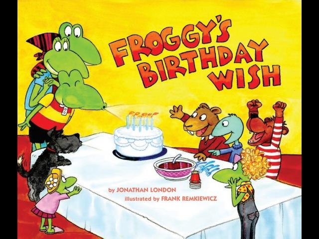 Froggys Birthday Wish видеокнига (EN)