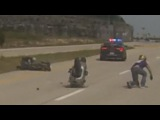 BIKE VS COP Chase GONE BAD Cops Car Causes Biker WIPEOUT Police Chases Motorcycle Crashes Video 2015