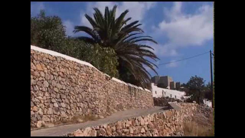 Остров Патмос - место, где апостол Иоанн Богослов написалАпокалипсис