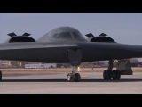 B-2 Spirit Stealth Bomber Prep, Taxi, and Takeoff HD