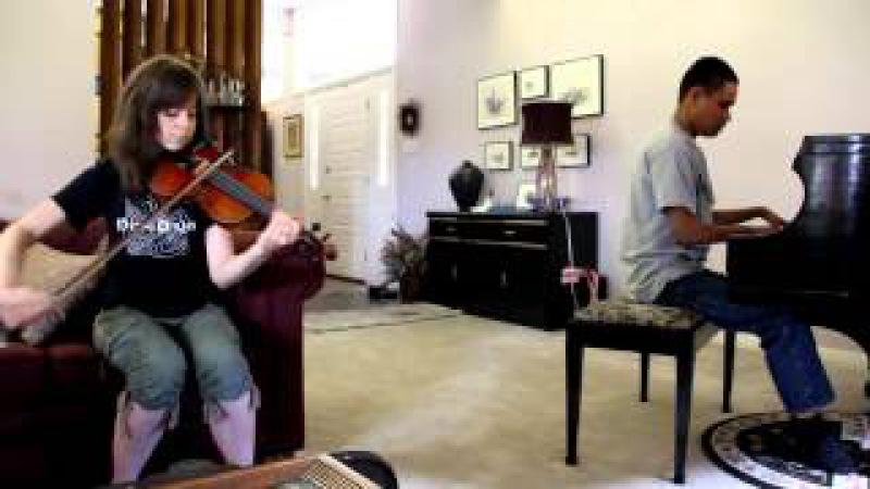 CRYSTALLIZE : LINDSEY STIRLING JAMS WITH BLIND PIANO PRODIGY KUHA'O CASE