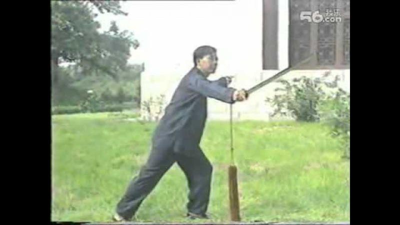 王培生先生 吴式64式太极剑教学 二